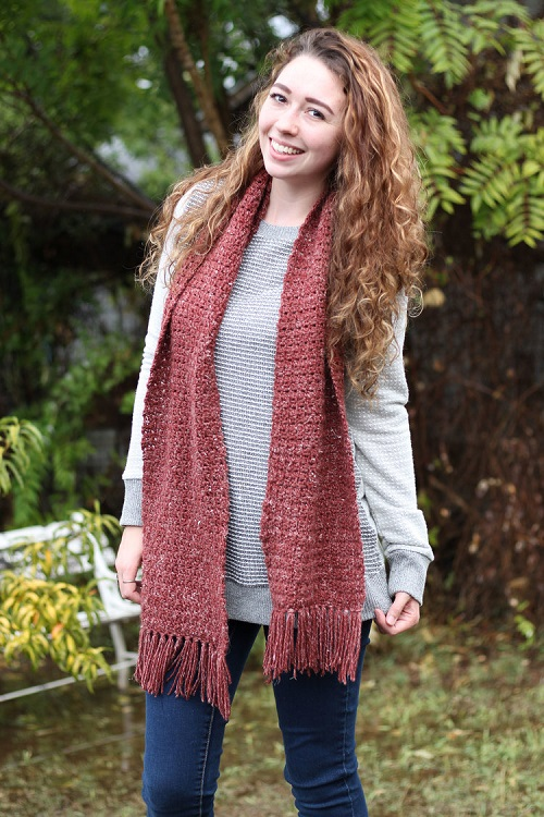 Fayre Scarf Crochet Pattern - These crochet scarf patterns will inspire creativity and excitement in you. #crochetscarfpatterns #crochetpatterns #crochetscarf #crochetaddict