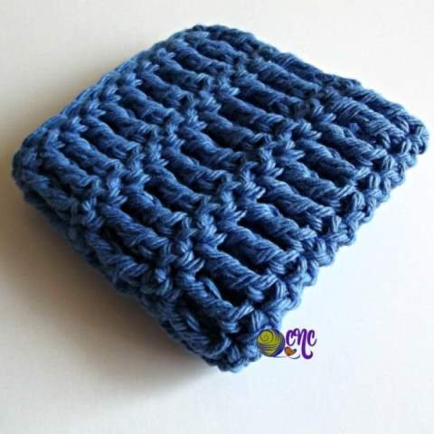 Triple Crochet Dishcloth - Crochet dishcloth patterns are fun to work up and faster than any others. #EasyCrochetDishclothPatterns #crochetpatterns #dishclothpatterns #crochetaddict