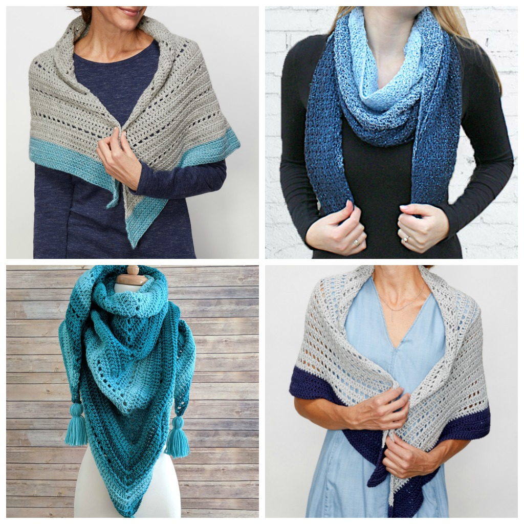 20 Free Crochet Shawl Patterns | Cream Of The Crop Crochet