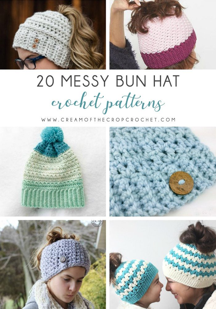 ef2187d6af3 These crochet hat patterns are so stylish and fun to make. Each one uses  different