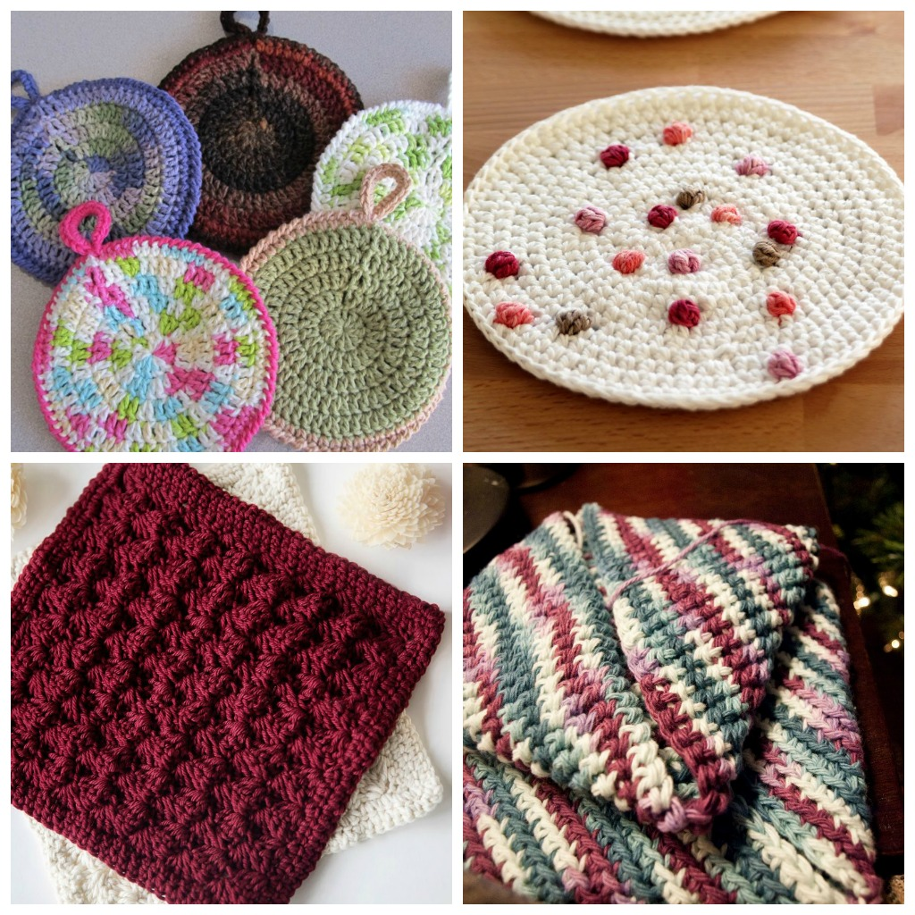 Make These 10 Cute Crochet Potholders In Under 1 Hour Cream Of The Crop Crochet