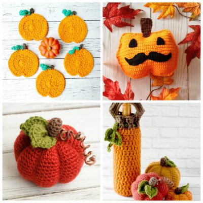13 Crochet Halloween Pumpkin Patterns