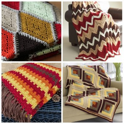 14 Fall-Inspired Free Crochet Blanket Patterns