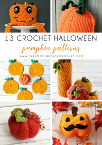 13 Crochet Halloween Pumpkin Patterns - These 13 crochet Halloween pumpkin patterns should be enough to create all the pumpkins you want. #crochethalloweenpumpkins #crochetpatterns #halloweencrochetpatterns