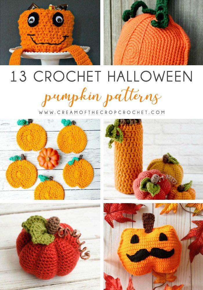 13 Crochet Halloween Pumpkin Patterns - These 13 crochet Halloween pumpkin patterns should be enough to create all the pumpkins you want. #crochethalloweenpumpkins #crochetpatterns #halloweencrochetpatterns