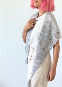 Stormy Sky Shawl - No matter what you're looking for these crochet shawl patterns will allow you to learn, grow and express yourself! #crochetshawlpatterns #crochetpatterns #freecrochetpatterns