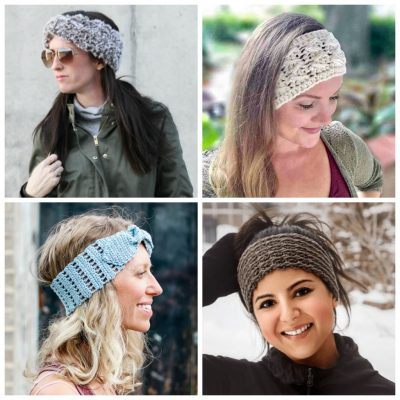 29 Crochet Headbands for Beginners