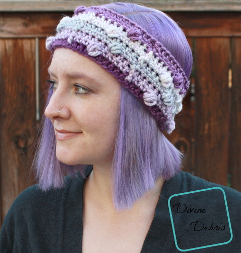 Kira Headband - These crochet headbands will be a great gift for your little daughters, nieces or girlfriends who love to keep their hair away from their faces. #crochetheadbands #crochetheadbandpatterns #crochetpatterns